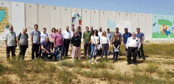 Educating for Community: Be'Artzeinu tours the Gaza perimeter