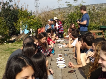 Tu Bishvat: Celebrating nature and study at the mechinot
