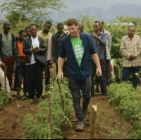 My Africa: Minsharim Kalu alumnus Eshel Lev-Or, now training Ethiopian farmers, believes that equality will sprout from the earth