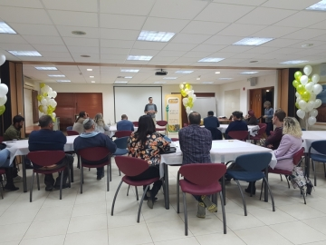 Fifteen young families attend Be'Artzeinu Kerem Shalom introductory conference