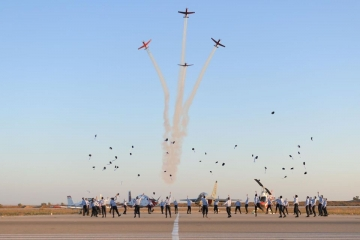 The IDF's 180th flight school class: 20% of new pilots are mechina graduates